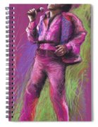 Jazz James Brown Spiral Notebook