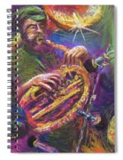 Jazz Jazzband Trio Spiral Notebook