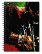 Jazz Miles Davis 1 Spiral Notebook