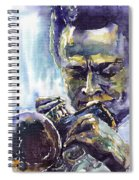 Jazz Miles Davis 10 Spiral Notebook