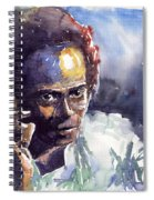 Jazz Miles Davis 11 Spiral Notebook