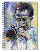Jazz Miles Davis 12 Spiral Notebook