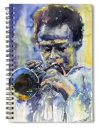 Jazz Miles Davis 12 Spiral Notebook