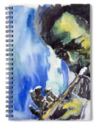 Jazz Miles Davis 5 Spiral Notebook