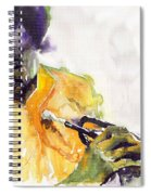 Jazz Miles Davis 7 Spiral Notebook