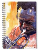 Jazz Miles Davis 8 Spiral Notebook