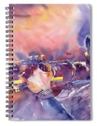 Jazz Miles Davis Electric 1 Spiral Notebook