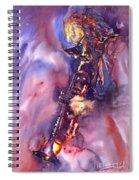 Jazz Miles Davis Electric 3 Spiral Notebook