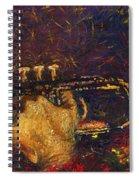 Jazz Miles Davis  Spiral Notebook