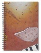 Jazz Music Spiral Notebook