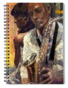 Jazz Muza  Spiral Notebook