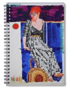 Jazz On The Square Spiral Notebook