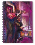 Jazz Purple Duet Spiral Notebook