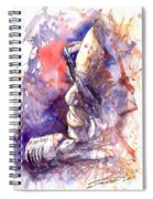 Jazz Ray Charles Spiral Notebook