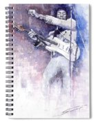 Jazz Rock Jimi Hendrix 07 Spiral Notebook
