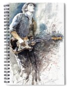 Jazz Rock John Mayer 05  Spiral Notebook