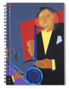 Jazz Sharp Spiral Notebook