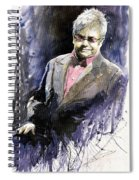 Jazz Sir Elton John Spiral Notebook
