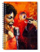 Jazz Song Spiral Notebook