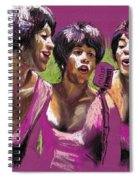 Jazz Trio Spiral Notebook