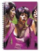 Jazz Trio Spiral Notebook