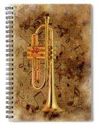 Jazz Trumpet Spiral Notebook