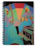 Jazzamatazz Band Spiral Notebook