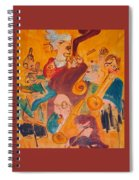 Jazzing Spiral Notebook