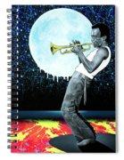 Jazzman Spiral Notebook