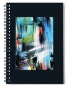 Jazzy Blues Spiral Notebook