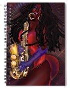 Jazzy Mama Spiral Notebook