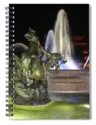 J.c. Nichols Fountain-4981 Spiral Notebook