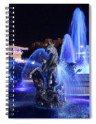 J.c.nichols Fountain-9802b Spiral Notebook