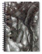 Jealous Girls Spiral Notebook