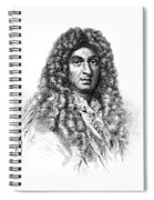 Jean-baptiste Lully, French Composer Spiral Notebook