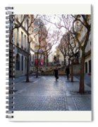 Jean Beauvais Paris Couple Walking Spiral Notebook