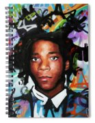 Jean, Michel, Basquiat II Spiral Notebook