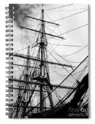 Jeanie Johnston Dublin Spiral Notebook