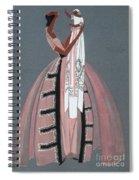 Jeanne Lanvin Design, 1925 Spiral Notebook