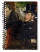 Jeantaud Linet And Laine Spiral Notebook