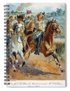 Jeb Stuarts Cavalry 1862 Spiral Notebook