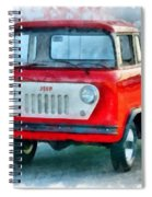 Jeep 1959 Fc150 Forward Control Pickup Spiral Notebook