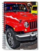 Jeep Wrangler X Spiral Notebook