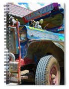 Jeepney Spiral Notebook