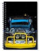 Jeepney, Manila Spiral Notebook