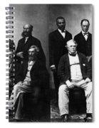 Jefferson Davis Trial Spiral Notebook