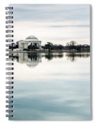 Jefferson Memorial And Tidal Basin Spiral Notebook