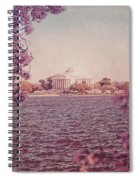 Jefferson Memorial During Spring Spiral Notebook