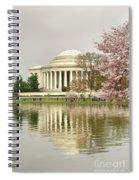 Jefferson Memorial Reflection I Spiral Notebook