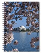 Jefferson Memorial On The Tidal Basin Ds051 Spiral Notebook